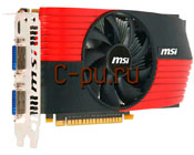 11GeForce GTS450 MSI PCI-E 1024Mb (N450GTS-M2D1GD5)