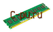 112Gb DDR-III 1333MHz Kingston ECC Registered (KVR1333D3S4R9S/2G)