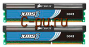 114Gb DDR-III 1600MHz Corsair XMS3 (CMX4GX3M2A1600C8) 2x2Gb KIT