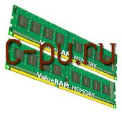 112Gb DDR-III 1333MHz Kingston (KVR1333D3N9K2/2G) (2x1Gb KIT)