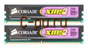 112Gb DDR-II 800MHz Corsair XMS2 (TWIN2X2048-6400) (2x1Gb KIT)
