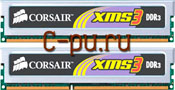 112Gb DDR-III 1333MHz Corsair XMS3 (TWIN3X2048-1333C9) 2x1Gb KIT