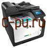 HP LaserJet Pro CM1415FN (CE861A)